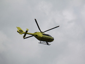 Air Ambulance/Emergency Services Needingworth 21/4/12