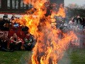 Whittlesey Straw Bear - The Burning