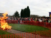 Whittlesey Straw Bear - The Burning