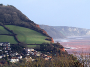 Sidmouth view from the golf club