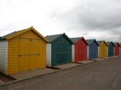 Beach Huts at Dawlish Warren keith larby akphotos 2012
