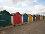 Beach Huts at Dawlish Warren keith larby akphotos 2012
