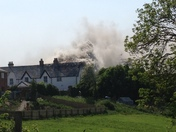 Fire in Bideford