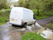 Heavy rain leads to localised flooding