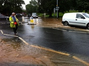 Flood in Exmouth