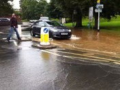 Flash flood in exmouth