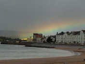 Rainbow in Exmouth