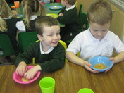 St Peters School Budleigh Pancake day