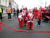 Bideford's Santa Fun Run