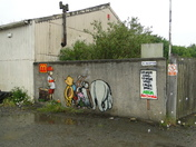 Street art appears at Bideford Atlantic Park site