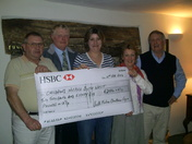 South Molton Fatstock cheque