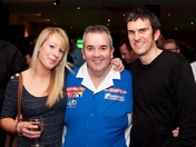 Me and my fiance with Phil 'The Power' Taylor