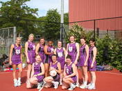 Hatfield Netball Club Hawks win playoffs