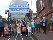 Hatfield Road Methodist Church Praise Bus Stop