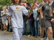 Olympic Torch in Stevenage