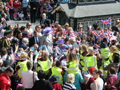 Queen Elizabeth II Jubilee visit to Hitchin