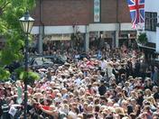 Queen Elizabeth II Jubilee visit to Hitchin