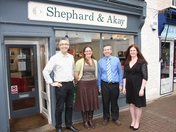 Hitchin opticians join forces