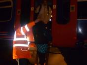 Train Evacuation