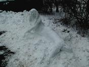 Snow Mermaid Basking at Wallington