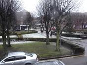 Snowing in Welwyn Garden City