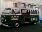 The BRIDE Bus arrives at The Wedding Show