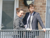 Broadchurch TV series being made in Portishead.
