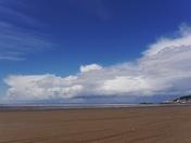 Blue skies over Weston