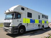 Police Horse Training.