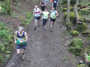 The Wrington Woodland Race.