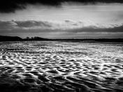 Uphill sand ripples
