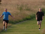 Runners in Hainault Forest Country Park