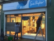 Sue Ryder Charity Shop in Hainault nearly ready for opening