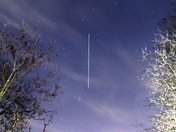 ISS flying over Hornchurch