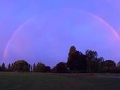 Full rainbow over Hornchurch