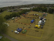 Aerial view of Havering Happy Hounds Dog Show