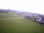 Harrow Lodge park run - Aerial shots from model plane
