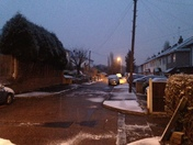 Light dusting of snow in Hornchurch