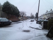 Snow in Hornchurch