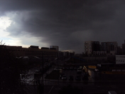 Storm over Westfield Stratford City & Athletes Village