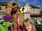 Woodford Festival: Camel spotted