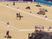 Olympics: Helicopters, fencing, archery and equestrian dressage