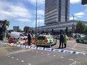 Woman killed by police motorbike