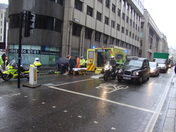 Accident in the City of London