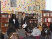 LORD ADEBOWALE APPEARS AT EASTBROOK SCHOOL