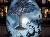 fFABERGE EASTER EGG HUNT - FROM LITTLE ACORNS MIGHTY OAKS GROW BY LOZ ATKINSON