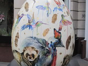 FABERGE EGG HUNT - FOR THE WINDOWS IN PARADISE BY EMMA KEMP
