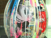 FABERGE EGG HUNT - LIFE IS BEAUTIFUL BY MR BRAINWASH