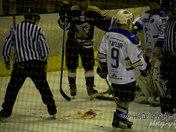 Romford ice rink, Romford Raiders Vs Chelmsford 16/02/12