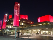London's Southbank shines for Sport Relief